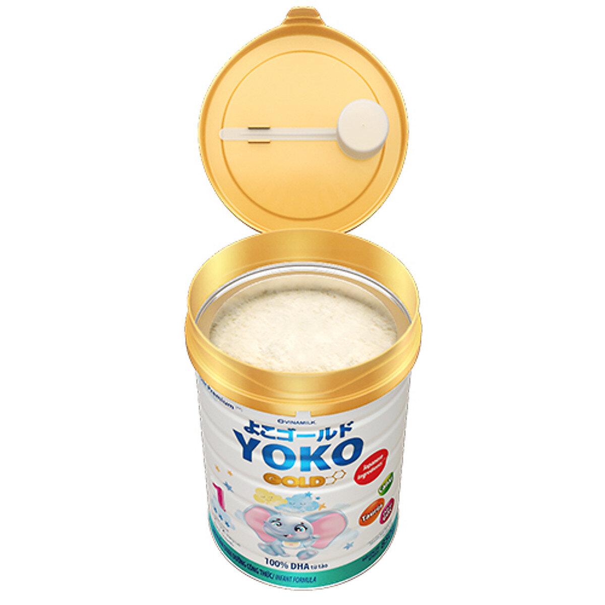 Kết cấu sữa Yoko Gold 1