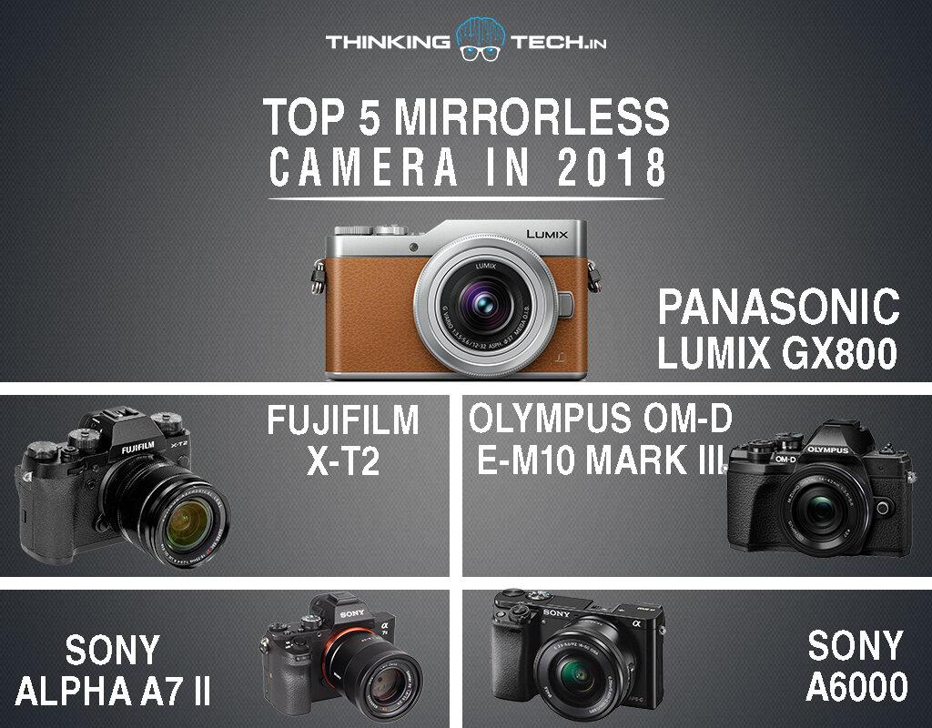 Top máy ảnh mirrorless tốt nhất 2018