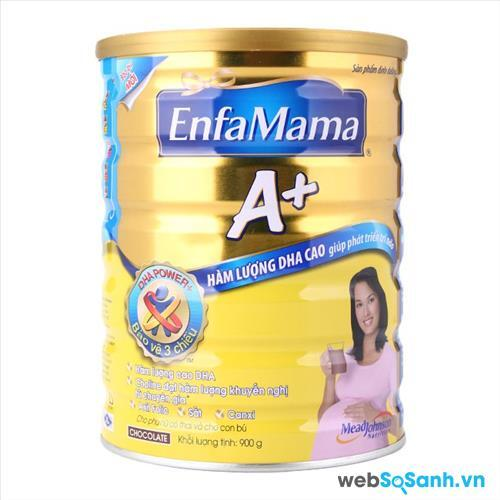Sữa bột EnfaMama A+ (nguồn: internet)