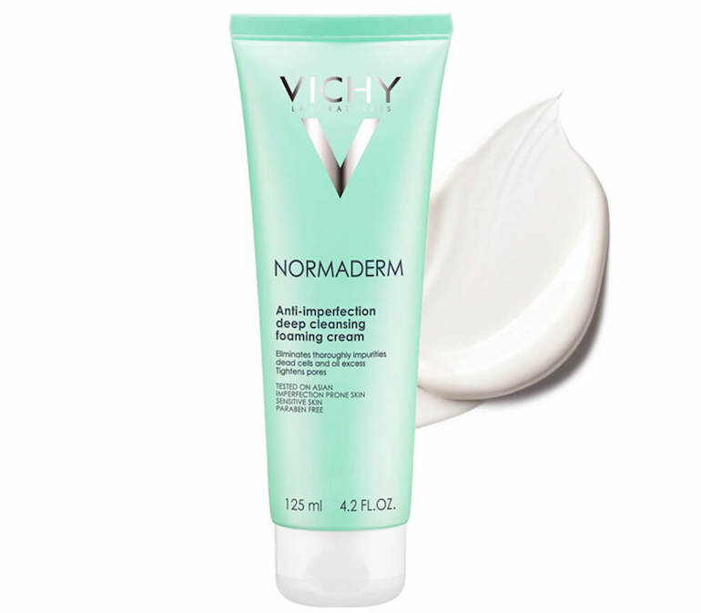 Sữa rửa mặt Vichy Normaderm Anti-perfection Deep Cleansing Foaming Cream