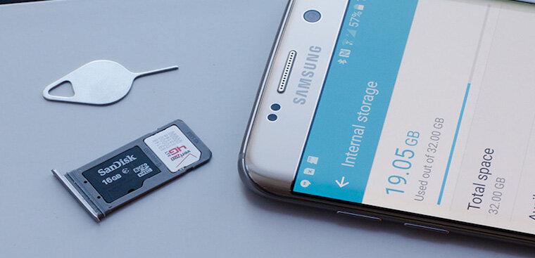 Tìm hiểu xem điện thoại có hỗ trợ khe cắm thẻ nhớ không