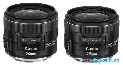 ống kính Canon sử dụng công nghệ Image Stabilization