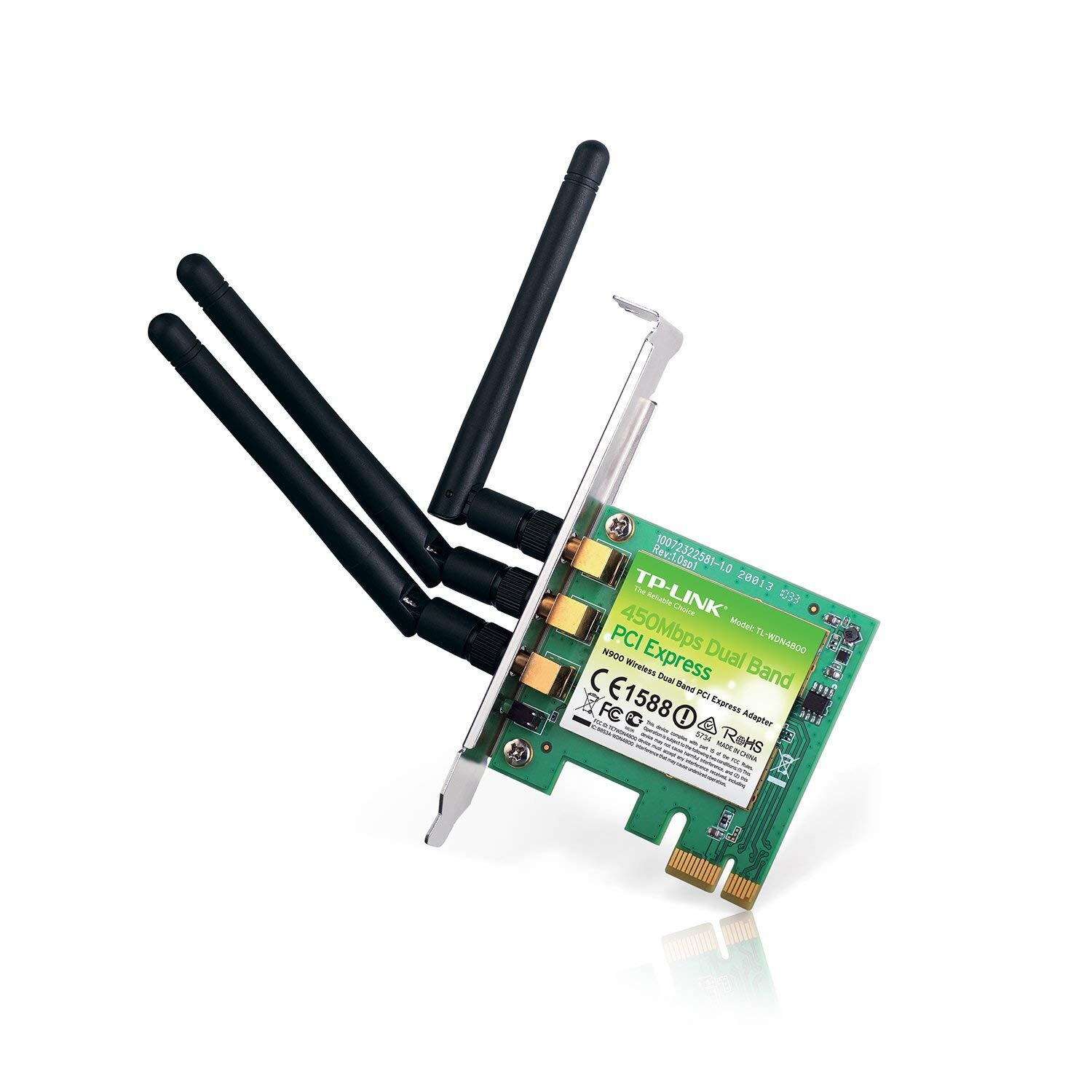 Card mạng wifi TP-Link TL-WDN4800 N900 Wireless Dual Band PCI Express Adapter
