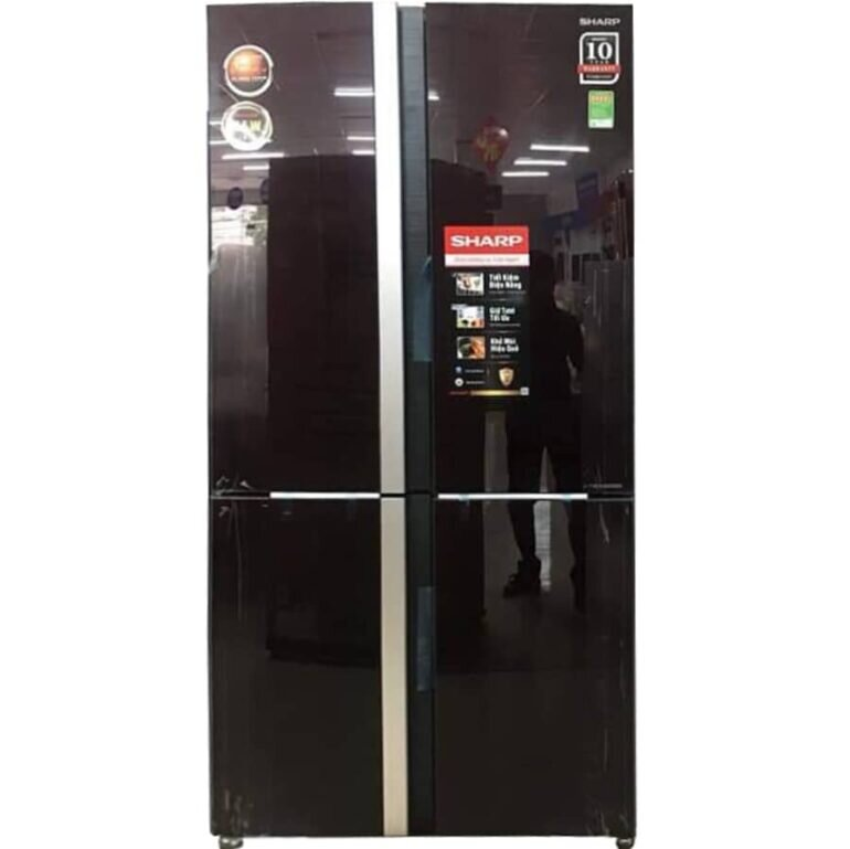 Tủ lạnh Sharp SJ-FX688VG-RD Inverter 678 lít