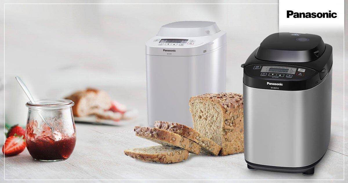 Máy làm bánh mì đa năng Panasonic