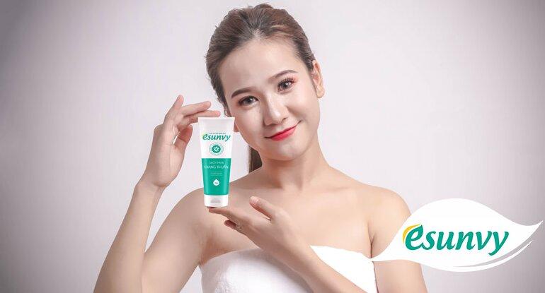 Về thành phần và công dụng của sữa rửa mặt Esunvy
