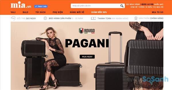 mua vali du lịch giá rẻ tại hà nội