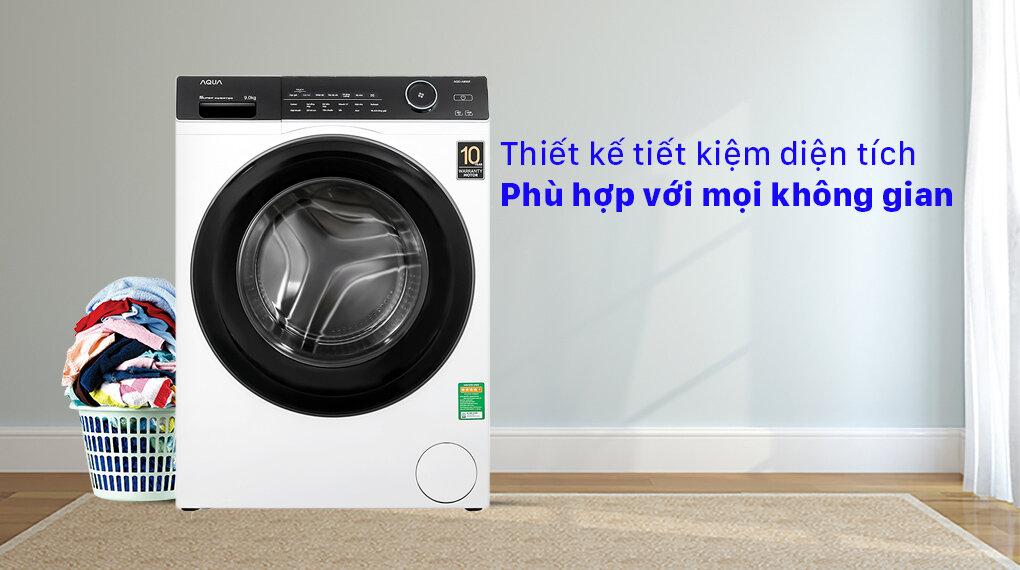 Máy giặt Aqua cửa ngang