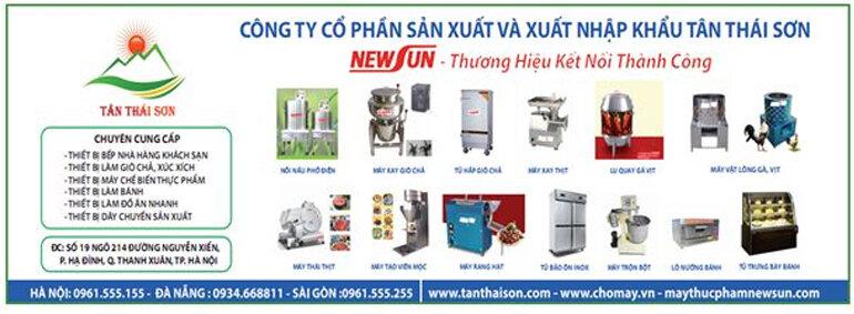 Công ty Cổ phần Sản xuất và Xuất nhập khẩu Tân Thái Sơn