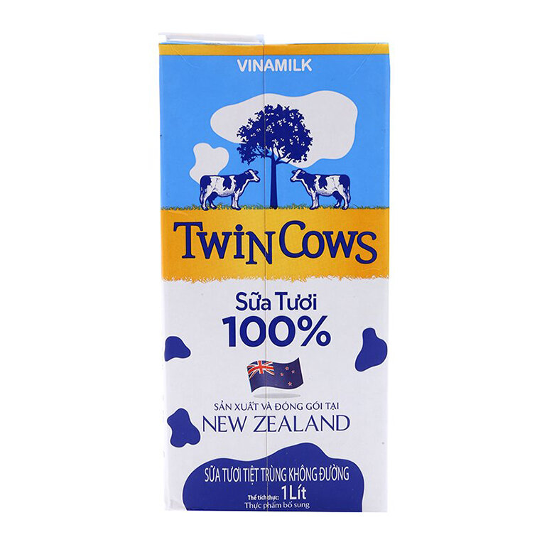 Sữa tươi tiệt trùng Vinamilk Twin Cows thơm ngon