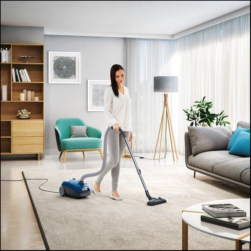 Tiết kiệm nhiều thời gian dọn nhà hơn khi sử dụng máy hút bụi của hãng Electrolux