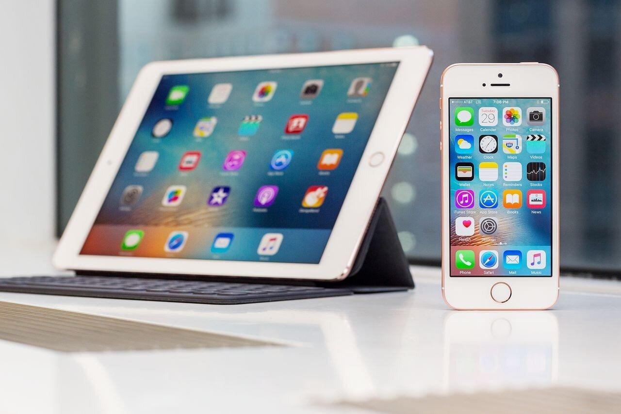 Khác biệt về kích thước màn hình giữa iPad và iPhone