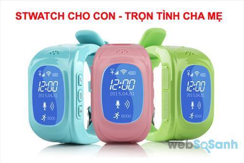 Đồng hồ định vị STWatch