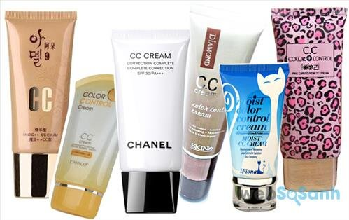 CC cream phù hợp với những làn da không đều màu, hay ửng đỏ