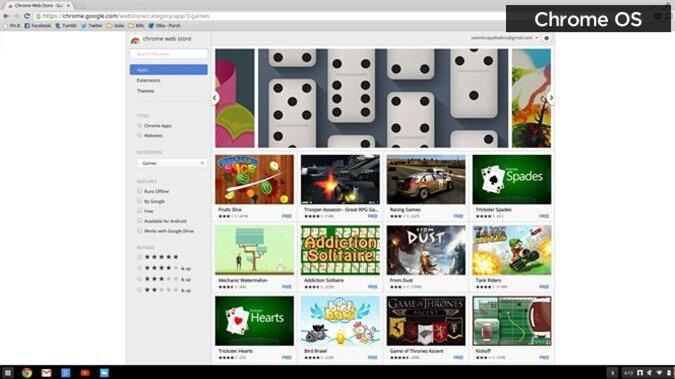 Chrome OS Games