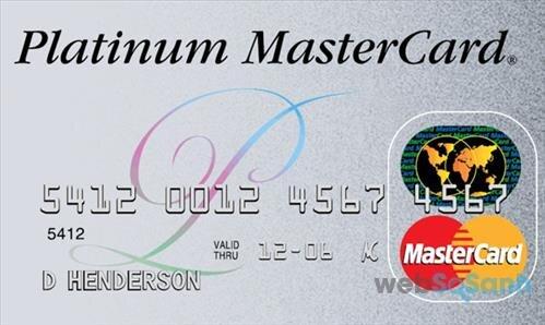 Hướng dẫn cách làm thẻ tín dụng MasterCard