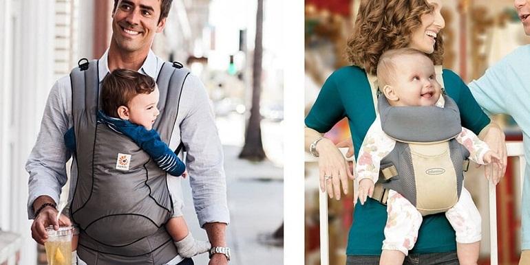 Một chiếc địu tốt khi tạo cho bé cảm giác thoải mái và giúp bé phát triển toàn diện
