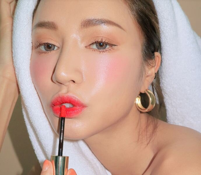 son 3CE Take A Layer Tinted Water Tint màu FIG PINK - Hồng baby