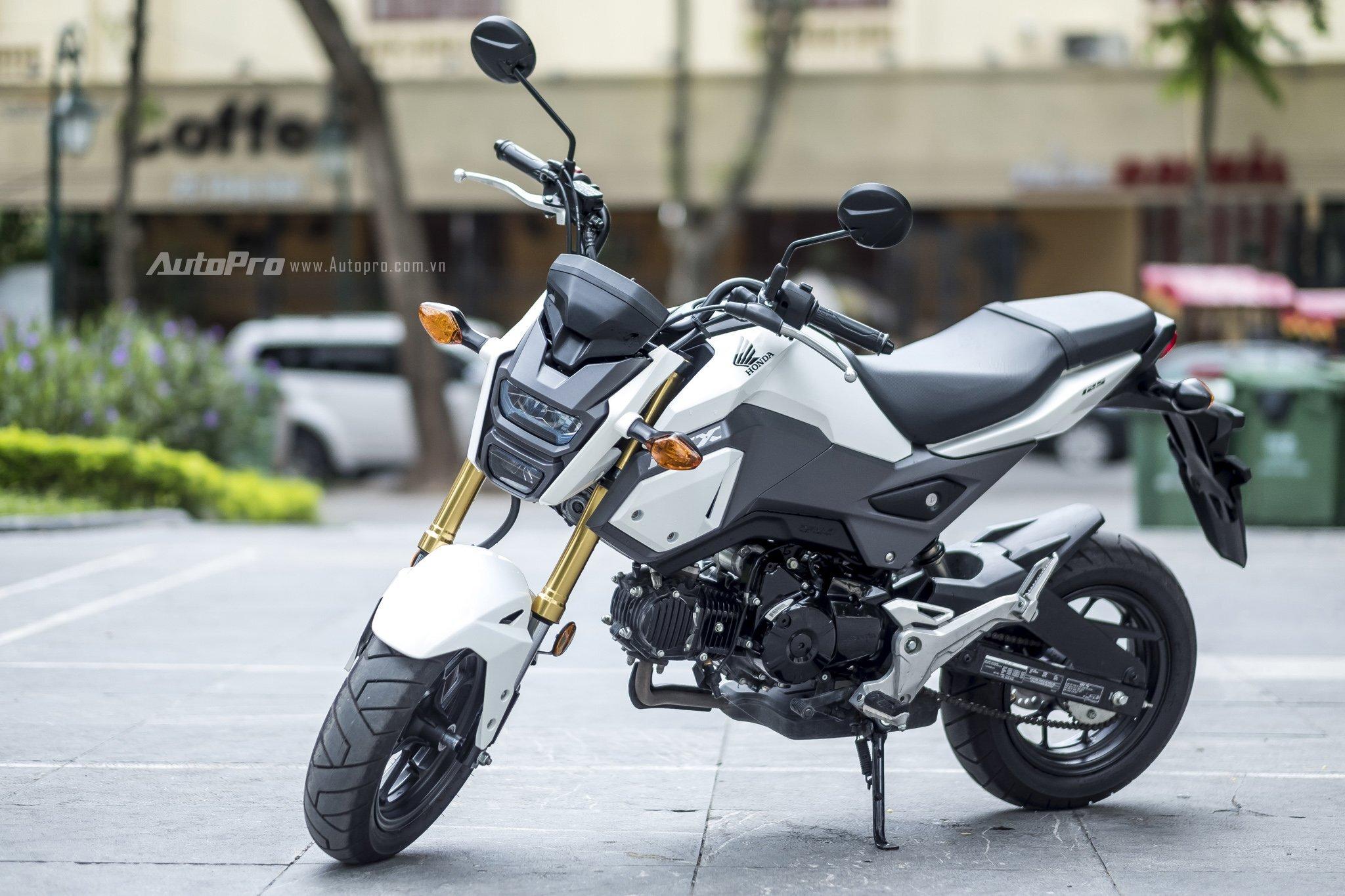 Honda MSX phiên bản 2017