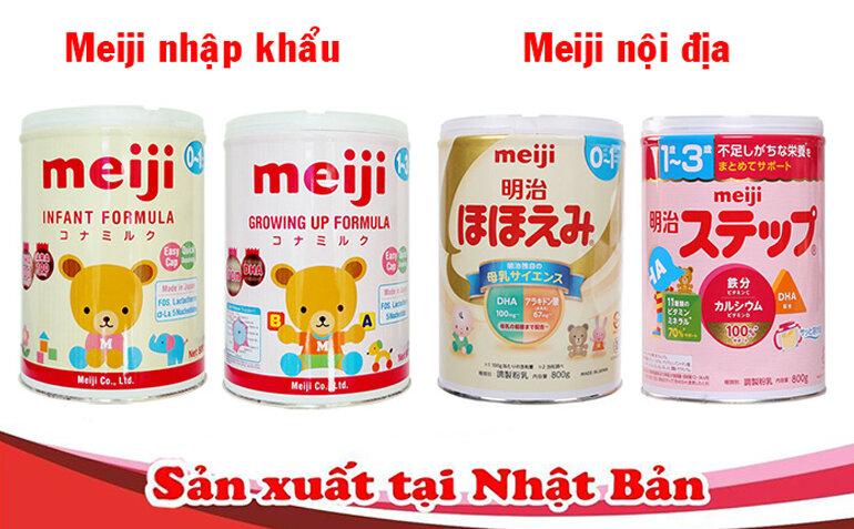 Ưu và nhược điểm của sữa bột Meiji