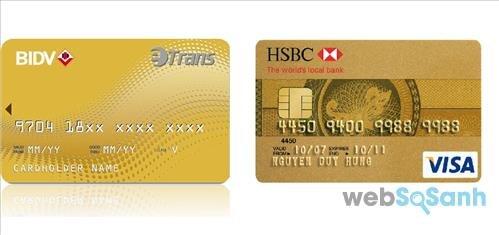 Nên làm thẻ tín dụng ngân hàng HSBC hay BIDV tốt nhất