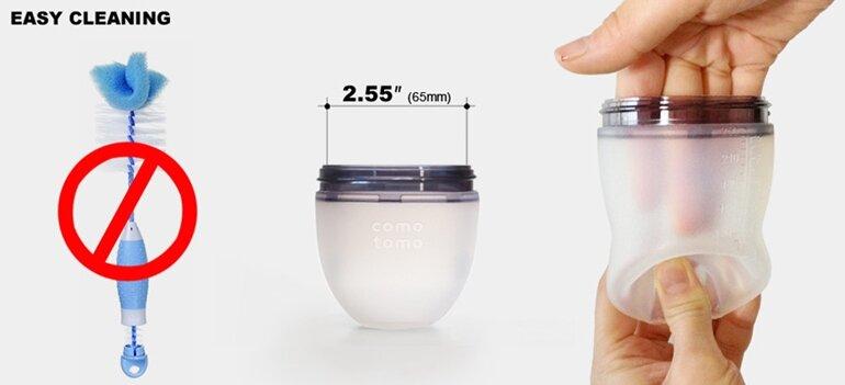 ưu nhược điểm của bình sữa comotomo