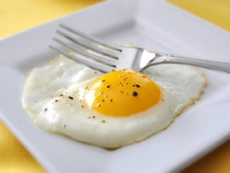 Trứng ốp la cho bữa sáng