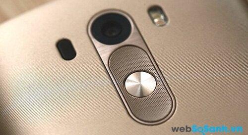 Thiết kế thanh lịch của LG G3.