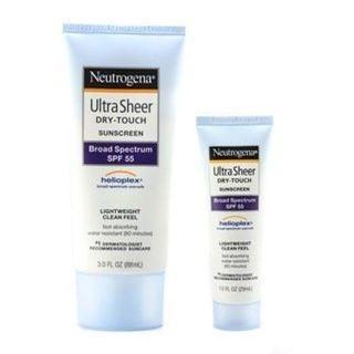 Neutrogena Ultra sheer dry touch suncreen SPF 55 - 29ml