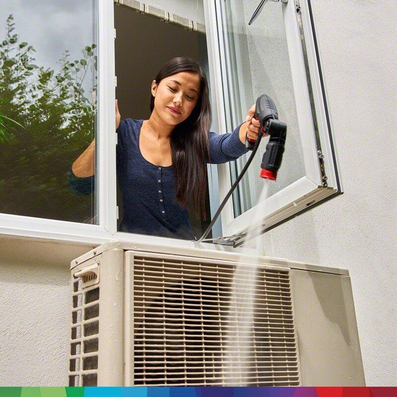 Vệ sinh nhà cửa dễ dàng với máy xịt cao áp