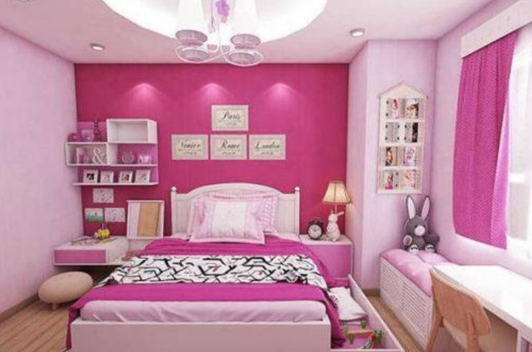Thiết kế nội thất phòng ngủ cho bé gái: Những điểm cần lưu ý