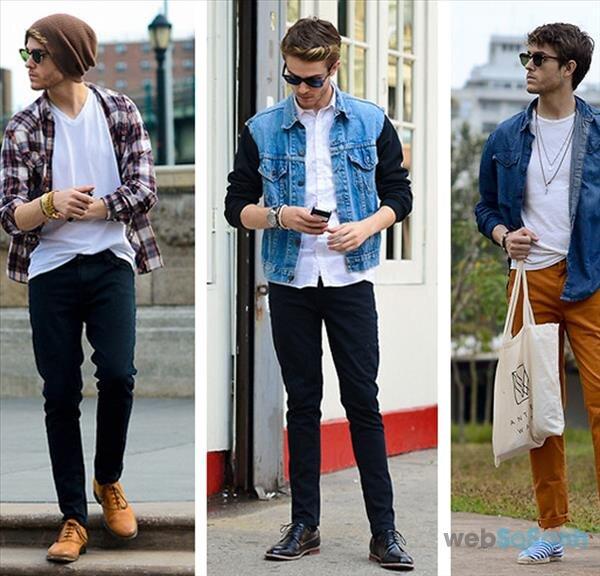 Muôn cách phối đồ cùng áo khoác jean nam cho chàng phong cách năng động, bụi bặm và sành điệu