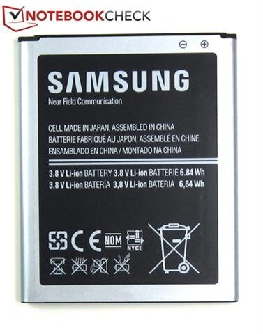Thỏi pin Lithium-Ion 6.84 Wh do Samsung sản xuất