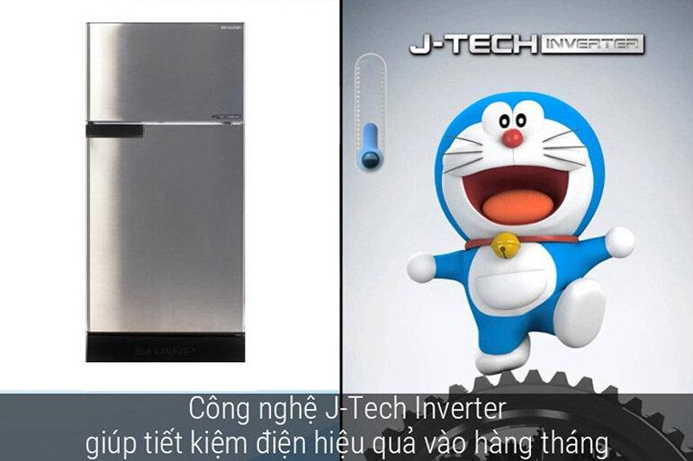 Làm lạnh nhanh và tiết kiệm điện hơn với công nghệ J-Tech Inverter