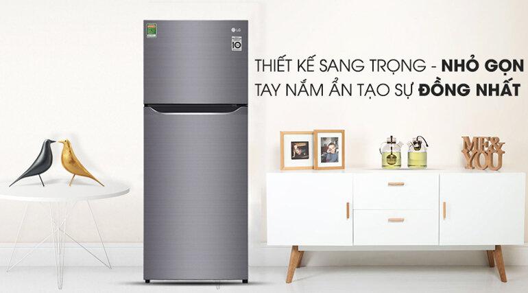 Tủ lạnh LG GN-L205S, 205 lít, Inverter