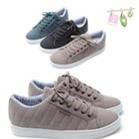 Giày Sneaker nam thời trang, trơn màu