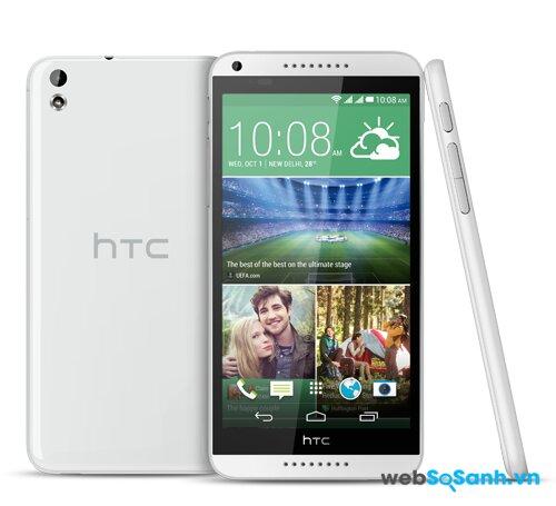 HTC Desire 816G với màn hình lớn 5.5 inch