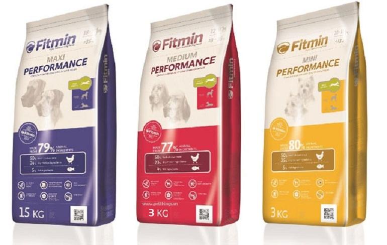 Thức ăn cho chó Fitmin có nhiều loại khác nhau