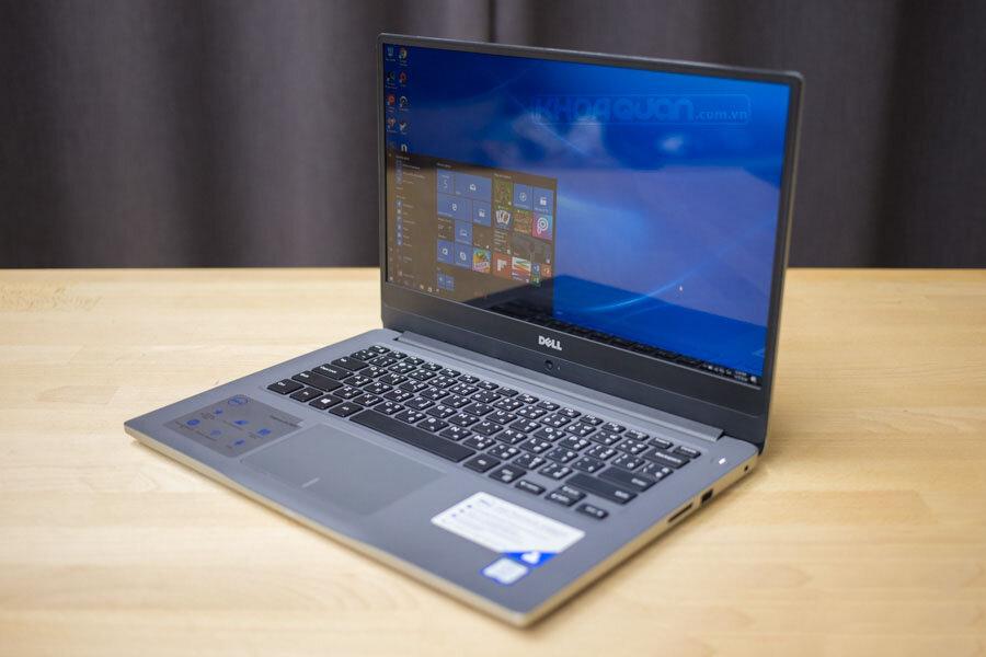Thiết kế hiện đại cũng đường nét đơn giản, tinh tế của Dell Inspiron N7460