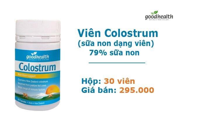 Giá sữa nonGoodhealth dạng viên 79% là 295.000 vnđ/hộp 30 viên