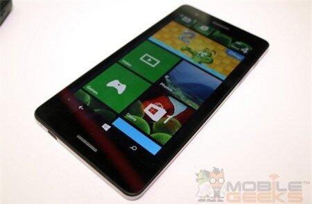 Đây là smartphone chạy Windows Phone 8.1 có kích thước lớn nhất hiện nay