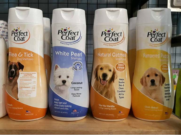 Sữa tắm cho chó con Perfect Coat
