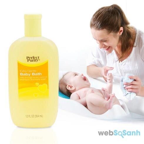 Sữa tắm trẻ em