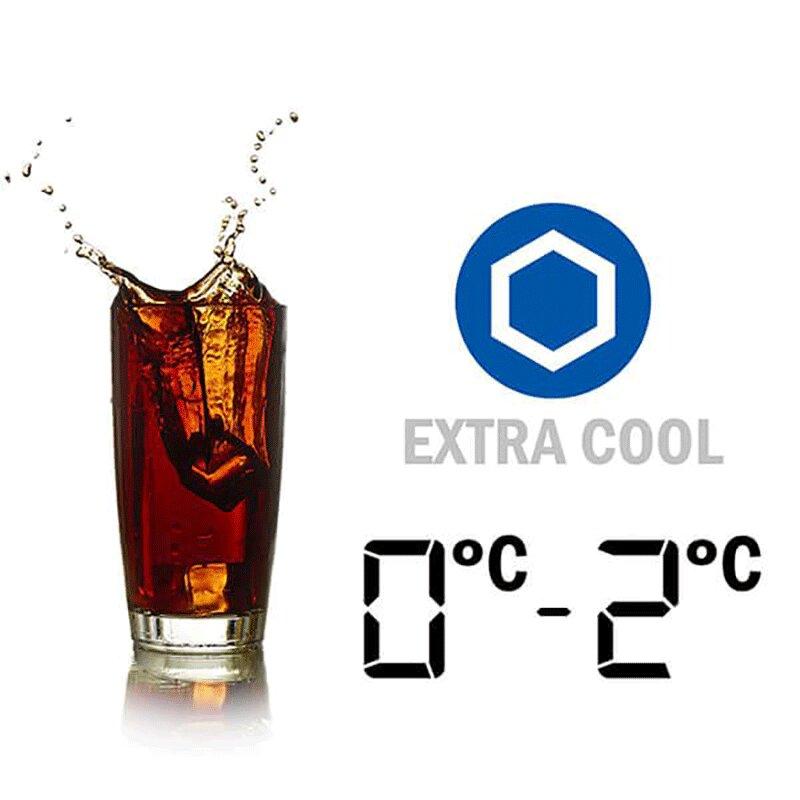 Sharp SJ-FX631V-SL làm lạnh nước ở nhiệt độ 0-2 độ C
