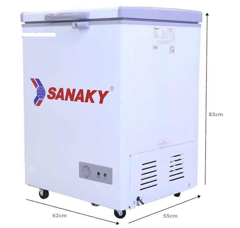 Tủ đông giá rẻ Sanaky VH-150HY2
