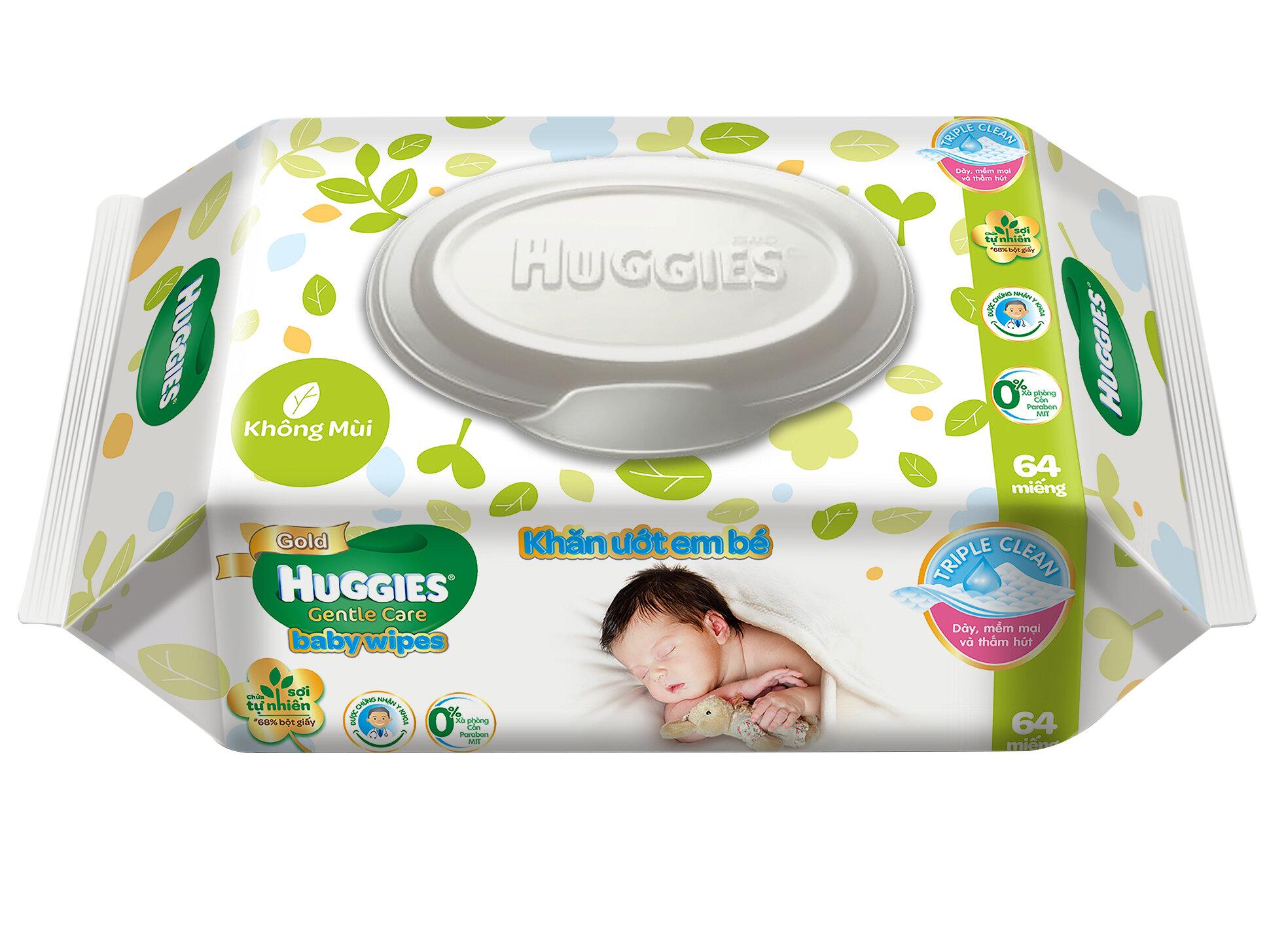Khăn ướt Huggies
