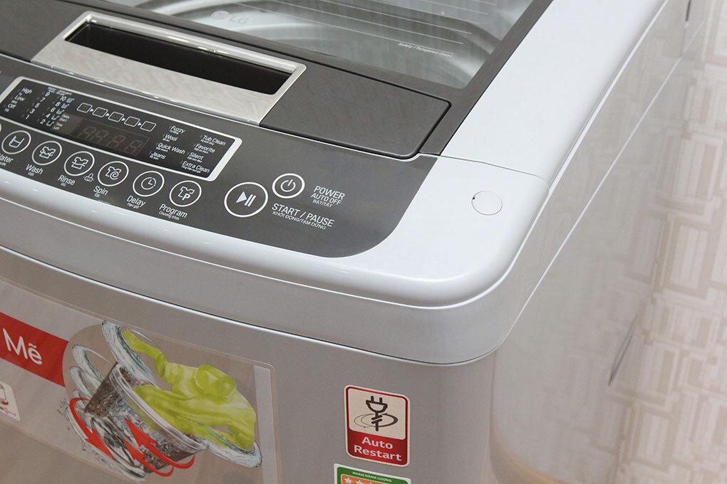 Máy giặt LG cửa trên có mẫu mã rất đẹp và đa dạng kích thước