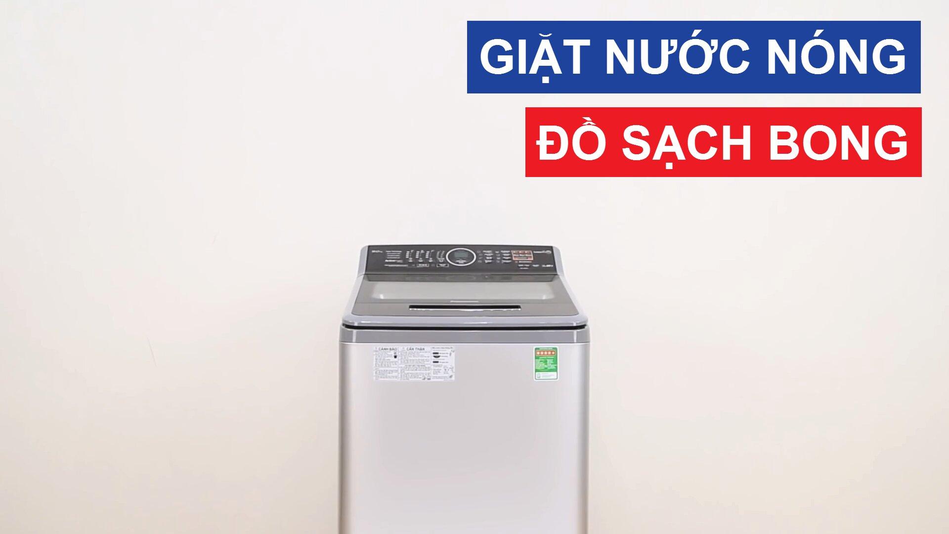 Máy giặt nước nóng Panasonic