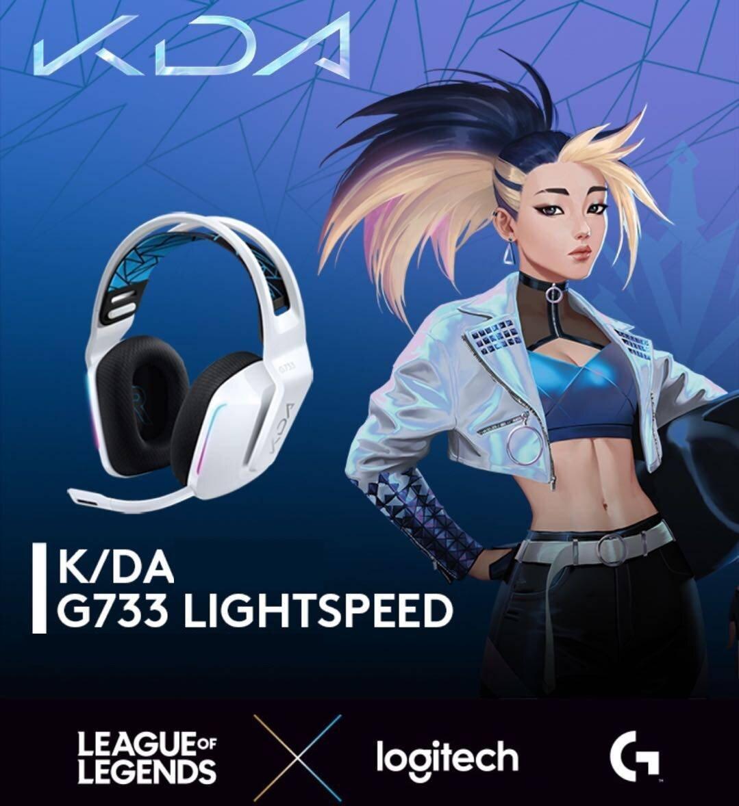 Tai nghe Logitech G733 League Of Legends K/DA Wireless