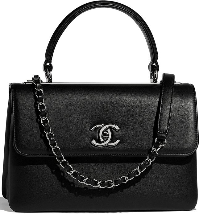 Chanel Small Trendy CC Bag in Smooth Leather